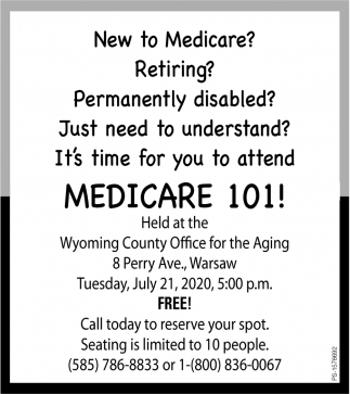 New To Medicare?