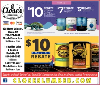 $10 Mail-In Rebate