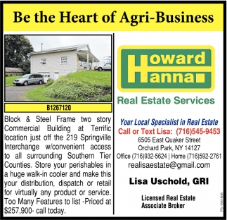 Be The Heart Of Agri-Business
