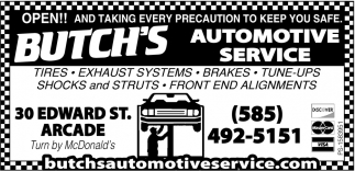Tires - Exhaust Systems - Brakes - Tune-Ups