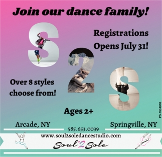 Join Our Dance Family!