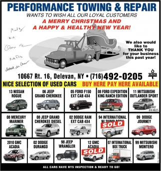 Nice Selection Of Used Cars